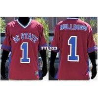 3421 # 1 Güney Carolina State Bayan Bulldogs Kolej Forması Boyutu S-4XL veya özel herhangi bir isim veya numara forma