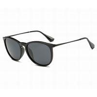 Мода Мужчины Солнцезащитные очки Высококачественные Старинные Солнцезащитные Очки для Женских Классических Очки Градиент Градиент Металл Рамка Мэтт Черные Оттенки вождения с случаями