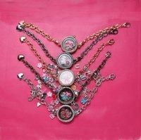 Europeisk och amerikansk fotoram Armband Kvinnors Alloy Inlägg Diamant Armband Partihandel GSFB339 Blanda Beställ 20 stycken Många Charm Armband