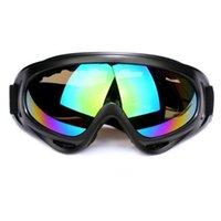 Yeni Süper Mukavemetli Motosiklet Gözlük Maske Lens Açık Sürme Retro Motosiklet Kask Gözlük Vintage Off-Road Gözlük