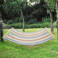 Bahçe Salıncak Hamak Açık Tek 2 Kişi Kamp Hamak Asılı Sandalye Açık Eğlence Yatak Uyku Tulumu Tuval Şerit