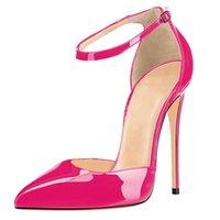 2021 O tornozelo novo torrado de tornozelo alto salto alto para toe stiletto como sapatos de casamento tamanho básico 4-15 5371