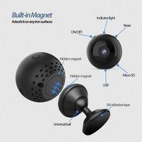 Mini cámaras W8 de gran angular HD WiFi de seguridad de seguridad de la vigilancia infrarrojos de la visión de la noche de la noche de la cámara de infrarrojos 1080P deportes DV Back Clip Cámara aérea1