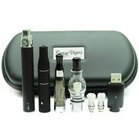 Ego 3 in 1 vaporizzatore a secco vaporizzatore vaporizzatore Penna 3in1 e cig starter kit 1100mAh EVOD batteria Atomizzatore del serbatoio Eliquid