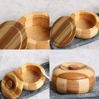 Bambus-Aschenbecher mit Abdeckung Originalität Persönlichkeit Holz Aschenbecher Zuhause Möbel Hoher Qualität verkaufen gut mit niedrigeren Preis 5FK J1