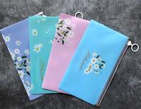 Malistureproof saco de dados Armazenamento Transparente Zipper Bolsas Cartoon PP Unicórnio Máscara Clipe 4 PCS Kit Cor Sólida 3 75xB O2