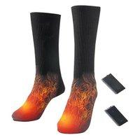 Sports Socken einstellbarer wärmer elektrischer erhitzter wiederaufladbarer Akku für Frauen Männer Winter im Freien Skifahren Radfahren Sportheat
