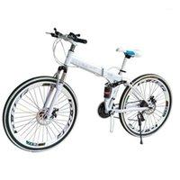Bicicletas Mountain Bike Aço Carbono Uma Roda 26 polegadas Dobrável Estudante Presente Carro Carro e Mulheres Cross-Country X61