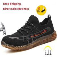 Stiefel VIP Drop Herren und Frauen Outdoor Steel Toe Anti Smashing Work Schuhe Männer Punktionssicher Sicherheit Sneakers Schuhe1