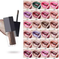 Nova Moda Metálica Lip Gloss Non Pegajoso Lipgloss Lipgloss Full Sexy Lips Brilhamentos Maquiagem Pudaier