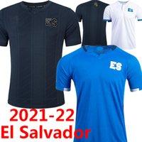 21/22 El Salvador Soccer Jerseys ES National Seam Home Away Terceiro 2021 2022 Alex Roldán Darwin cerén Eriq Zavaleta Amando Moreno Narciso Orellana Camisas de futebol 3