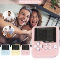 Portable Game Players Mini Console Machine Children's Handheld Nostalgic With Keychain Tetris Video Kids Children Gifts