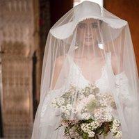 Elegant Full Lace Wedding Dresses Backless A Line Bridal Gown Vestido de novia Puffy Sleeve Garden Pary Dress