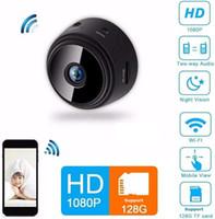 A9 WiFi Mini IP Câmera Ao Ar Livre Night Versão Micro Câmera Camcorder Voz Video Recorder Security HD Wireless Mini Filmadoras 1080p