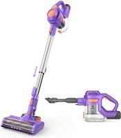 MOOSOO Cordless Vacuum Cleaner 24KPa 4-In-1 Stick Vacuums Silence for Pet Hair-X8