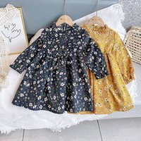 2021 Spring New Arrival Girls Long Sleeve Floral Dress Kids ...