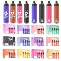 정통 케이크 2000 퍼프 일회용 전자 담배 vape 펜 1300mAh 배터리 6.5ml 용량 휴대용 기화기 사전 채워진 델타 8 Gummies Carts Bang XXL 퍼프 플러스