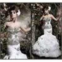 wedding gowns 2016 Spring Gorgeous crystal Hot Sexy Elegent Sweetheart Strapless wedding dresses Mermaid Dresses Bridal Gowns