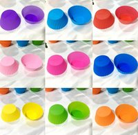 Kitchen, Dining Bar Home & Gardenmuffin Cupcake Mods 7Cm Colorf Cake Cup Mold Case Bakeware Maker Baking Mod Drop Delivery 2021 2Vu0W