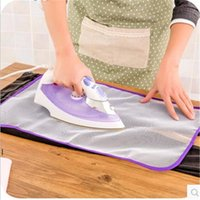 Almohadilla de planchado de planchado de alta temperatura Cubierta de planchado Aislamiento protector del hogar contra tableros de almohadillas Placas de malla OWF7638