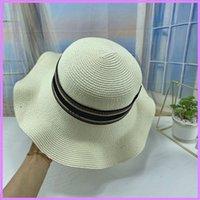 새로운 패션 양동이 모자 디자이너 모자 여성 여름 모자 모자 망 태양 모자 casquette 장착 된 트럭 모자 야구 오두막 해변 D217131F