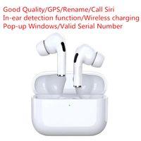Alta Qualidade Airpod Water Result Bluetooth Earphones GPS Pure Sound Orelha Botões para Airpods Pro Headset Branco