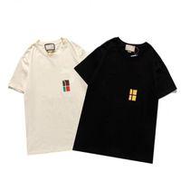 2021 جديد الصيف الرجال النساء المطبوعة تي شيرت الرجال الساخنة مبيعات t-shirt الهيب هوب الزى الأعلى المحملة إلكتروني الطباعة عارضة الزى شيرت