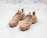dior shoes 2021 بيع MENS المرأة عارضة أحذية النيوبرين grosgrain الشريط d-connect أحذية رياضية الراحة السيدات التفاف حول المطاط الوحيد عارضة المشي محاكات