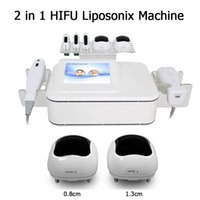Liposonix 바디 슬리밍 기계 Hifu 얼굴 리프팅 주름 제거 2 in 1