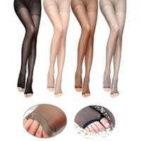 8T2021 Estate Sexy Collant Donne Nylons Pantyhosi Panty Collant Medias de Open Toe Sheer Ultra-sottile Seamless Mujer Stockining