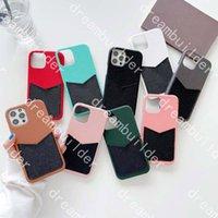 Top Moda Telefono Custodie per iPhone 12 Pro Max 13 x XS XSMax XR Porta carte in pelle Caso Samsung S20 S20P S20U Nota 10 10P 20U Cover con scatola