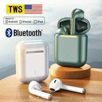Оригинал J18 TWS Pro Беспроводные наушники Bluetooth Наушники Сенсорные наушники в наушниках для наушники для Apple iPhone Xiaomi Android