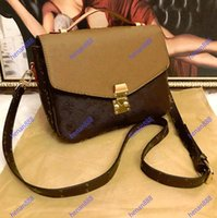Umhängetaschen Frauen Messenger Leder Handtasche Abend 4 Farben Gitter 2 stücke Set Totes Hohe Qualität Top PU Luxurys Designer Damen