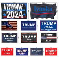 Новый Трамп 2024 Флаг У.с. Президентская кампания Флаг 90 * 150см 3 * 5фт Баннер Флаг для домашнего сада Двор 13 Стиль Бесплатный DHL Ship