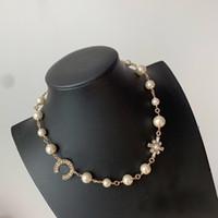 Collana di progettista di modo popolare di modo di progettazione della signora della signora della collana di progettazione delle donne del regalo dei monili di lusso per la sposa con la scatola.