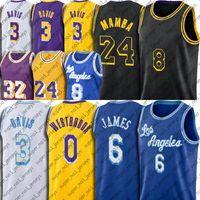24 mamba Kobe Bryant Los Angeles Lakers jersey 23 6 LeBron James Escolhido Um Rei Jerseys Anthony Jersey Davis Rixback 34 Shaq Kyle 0 Kuzma Jerseys