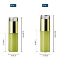 20ML 30ML 40ML 60ML0ML 80ML 100ML 120ML متجمد الأخضر زجاج زجاجة فارغة إعادة الملء غسول بخاخ مضخة زجاجات مستحضرات التجميل حاوية 10 v2
