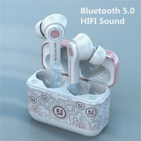 Ts-100 Tws Wireless Bluetooth 5.0 Earphones with Mic Charging Box Headphones 9d Gaming Headsets Sport Earbuds for Android Pk I12