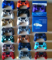 Wireless Bluetooth Controller for PS4 Shock Controllers Joystick Gamepad Game Controller With Retail Package