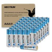Neckium AAA Alkalin Saf Altın Alt Piller 8 Sayım Ultra Güç Uzun Ömürlü Lot Cihazlar ve Akıllı Kilit 10 Yıl Raf Ömrü Gerilim 1.5 Volt