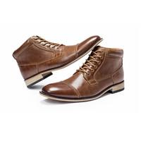 Heißer Verkauf-2020 Mens Kleid Schuhe Business Schuhe Echtes Leder Luxus Hochzeit Loafer Print Männer Wohnungen Büro Partei Formale Schuhe Spitz