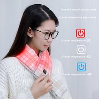 Newest style heating warm scarf smart Electric muffler winter Valentine's day gift for boy and girl friends