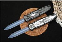 MT MICRO-TECH Scarab Tactical Combat Automatic Knife 440C Blade Aluminum Handle EDC Tools UTX 85 70 3400 C81 535 9400 940 Knives