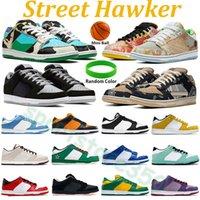 Street Hawker Scarpe da basket a bassa ombra Chunky Dunky Plum Coast Costa SP Università Red Cherry San Valentino a infrarossi Arancione Arancione Donne Sneakers Sport Trainer