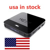 USA in magazzino H96 Mini H8 2GB 16 GB Android 9.0 OTT TV Box RK3228A Quad Core Dual WiFi 2G + 5G BT4.0