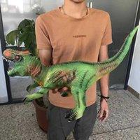 مقلد كتل الحيوان المطاط مقلد المينا لعبة ديناصور لينة مع نموذج يبكي الأطفال 2910
