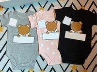 2020 боди для новорожденных ползунка ребёнок девочка одежда младенца ребенка с коротким рукавом комбинезон лето 0-24 месяца