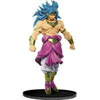 Anime Figurine 22cm Super Saiyan Broly Figure Theatre Ver. Figura de acción PVC Modelo de colección de PVC Regalo para niños C0602
