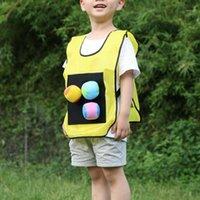 في الهواء الطلق القمصان 5 لون عصا جيرسي لعبة سترات مثيرة للاهتمام رياض الأطفال dodgeball لاصق الكرة سترة الإبداعية القماش 1