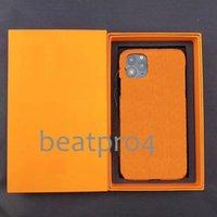 Perakende Kutusu ile L Lüks Tasarımcı Deri Telefon Kapak Kılıf Iphone 7 8 Artı Için iPhone X XR XS Max iPhone 12 11 12 Pro 11 12 Pro Max